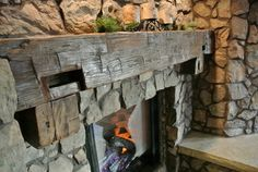 Fireplace Mantel traditional living room