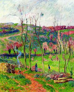 Henri Moret - Winter in Brittany,1907