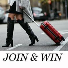 Check out this contest on fashiolista: Pick your favorite Samsonite suitcase and win it with a €250 Topshop voucher!