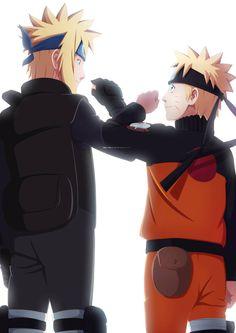 Naruto Shippuden The Lost Tower Anime Naruto, Anime Fr, Naruto Fan Art, Naruto Sasuke Sakura, Naruto Uzumaki Shippuden, Naruto Cute, Naruto Shippuden Sasuke, Minato Kushina, Naruhina