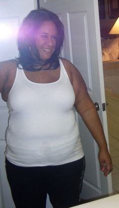 Weight Loss Success Story Cherie in November of 2009 Before Losing 86 pounds.