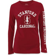 Product: Stanford University Cardinal Women's Long Sleeve T-Shirt