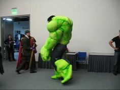 MikesCostumes.com - Showing off the Hulk Costume