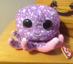 """NEW Ty Beanie Boos  6"""" LEGS the OCTOPUS - Mint with Tags - Brand New"""
