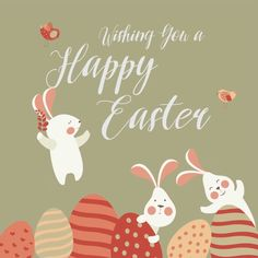 Free Easter Templates. #social #media #free #templates #happy #easter #2018 #animated #gif #video #line #photo #ideas
