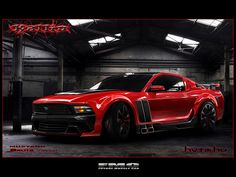 Ford Mustang Brute by Kallio