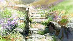 """Fine Art and You: Korean Watercolor Painter """"Shin Jong Sik"""" Watercolor Books, Watercolor Mixing, Gold Watercolor, Watercolor Landscape, Watercolor Flowers, Watercolor Paintings, Watercolors, Flower Paintings, Different Art Styles"""