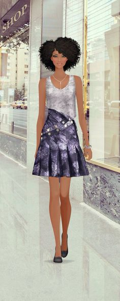 Covet Fashion game...by Rosi