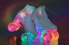Neon Roller Skates
