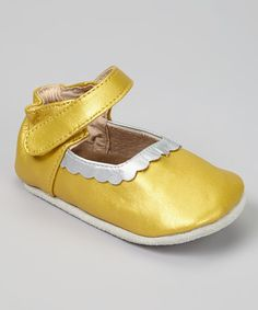 Take a look at this ELK Gold Mary Jane on zulily today!