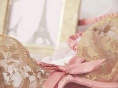 pink and lace #pink #lace #lingerie