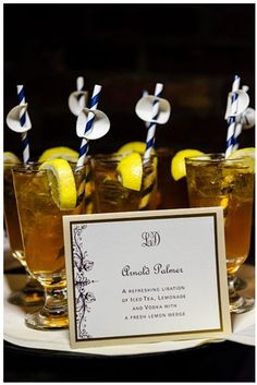 spiked Arnold Palmer... would be literally the best signature wedding drink #sogood