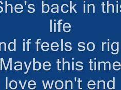 Maybe This Time - David Pomeranz ( With Lyrics )
