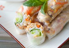 """Many people think that Vietnamese spring rolls are too difficult to make. Not true! And when you add a dipping sauce that it out of this world, you end up with a meal that is really at the top of the """"A"""" list. This recipe includes a dipping sauce that is amazing. Click below for …"""