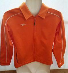 SPEEDO Youth Streamline Jacket Orange with white stripe Size youth medium | Clothing, Shoes & Accessories, Kids' Clothing, Shoes & Accs, Boys' Clothing (Sizes 4 & Up) | eBay!