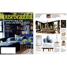 June edition | rooms that will make you fall in love via HouseBeautiful. @House Beautiful magazine #zincdoor #zdpress