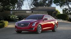 2015 Cadillac ATS Coupe. Arrives summer 2014.