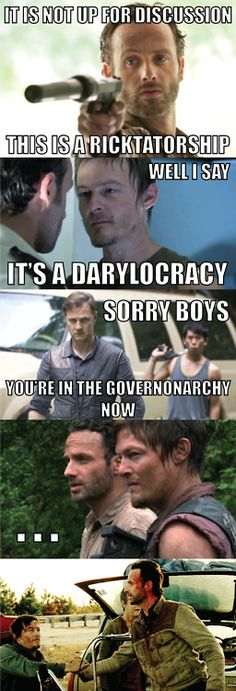 LOL!!!!! The Walking Dead.