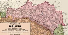 Top Online Genealogy Resources for Galicia, Austro-Hungary Polish Language, Archduke, Jewish Museum, Old Maps, Place Names, Historical Maps, My Heritage, Eastern Europe, Ancestry