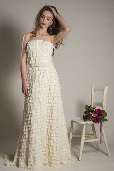 Ra-Ra couture Christine Trewinnard Wedding gown