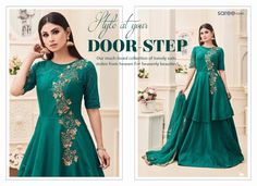 Saunter in Style! We bring you Royal Dressing - in a jiffy - with trendiest and most gorgeous Indo-Western Suits that are sure to keep you scintillating at every party, wedding or function you attend.