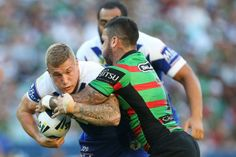 Trent Hodkinson and Adam Reynolds - Rabbitohs v Bulldogs