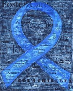 Blue to raise awareness of child abuse and neglect