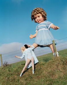 Tim Walker: Story Teller. Huge doll with supermodel Lindsey Wixson. #photography #editorial #fashion