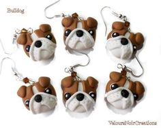 Image result for polymer clay bulldog