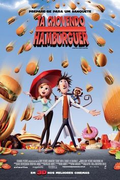 Cloudy with a chance of meatballs 2 MOVIE COMEDY  FILM POSTER # 21 A3//A4 Size