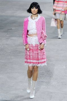 Chanel - Parigi - Primavera Estate 2014 - Sfilate - MarieClaire