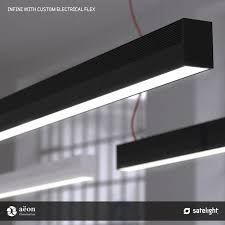 Infini L. Linear Pendant Lighting, Task Lighting, Pendant Lights, Interior Lighting, Lighting Design, Australian Lighting, Melbourne, Office Fit Out, Led
