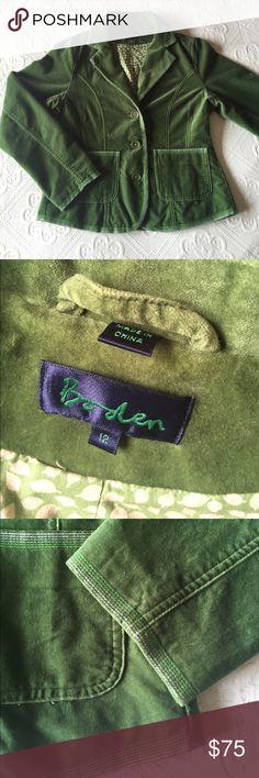 Boden - Velvet Career / Casual Blazer Boden - Velvet Career / Casual Blazer - Was told the Size 12 is a UK size, Size 8 for US. Boden Jackets & Coats Blazers