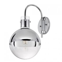Buy the Sonneman Polished Chrome Direct. Shop for the Sonneman Polished Chrome Apollo 1 Light Wall Sconce with Mercury Glass Shade and save. Glass Globe, Wall Lights, Mercury Glass, Wall Sconce Lighting, Glass Shades, Contemporary Wall Sconces, Sonneman, Polished Chrome, Wall Sconces