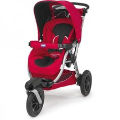 Poussette Chicco Activ 3 red wave rouge