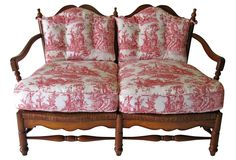 One Kings Lane - French Country-Style Bench French Style Decor, French Country Style, French Country Furniture, French Country Decorating, Luxury Furniture, Vintage Furniture, Vintage Market, One Kings Lane, Service Design