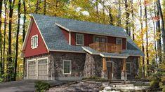 Exterior Rendering Floor Plans In 2019 Garage House Carriage House Plans, Barn House Plans, Craftsman House Plans, Dream House Plans, Modern House Plans, Small House Plans, Garage To Living Space, Garage Guest House, Garage Loft