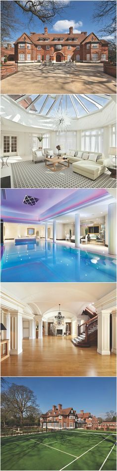 Inside Heath Hall — the historic London mansion Justin Bieber is renting for £108,000 per month