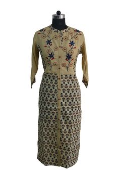 Rayon Floral Embroidery Kurti #wholesalebox #wholesale #kurti #wholesalekurti #fashion
