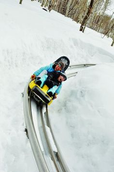 Best Downhill Without Skis: Alpine Coaster, Park City, Utah