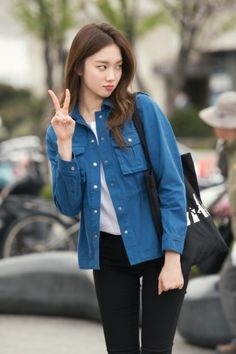Model, lee sung kyung, and fashion image korean fashion trends, korean street fashion Korean Fashion Summer, Korean Fashion Trends, Korean Street Fashion, Korea Fashion, Kpop Fashion, Asian Fashion, Fashion Outfits, Korean Girl Fashion, Style Fashion