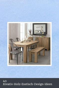 Nice 40 Kreativ-Holz-Esstisch-Design-Ideen -  #40 #Creative #Design #Dining #Ideas #Permalink #Permalinkto:40CreativeWoodenDiningTablesDesignIdeas #Tables #To #Wooden Esstisch Design, Baby Room Design, Creative Design, Tables, Dining Table, Nice, Furniture, Ideas, Home Decor