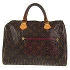 Auth Louis Vuitton Speedy Hand Bag Monogram Perfo Canvas Leather M95180 2B05192 - #bags #fashion