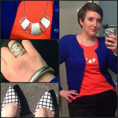 #DYTType4 #ootd. Shoes from #JustFab. Jewelry from #paparazziaccessories (link in profile). #NudeLips #dyt #dressingyourtruth #type4bold #MomFashion #instafashion #wiw #wiwn #wiwt