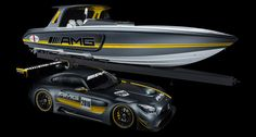 Cigarette's latest boat is a GT3 racer for the water