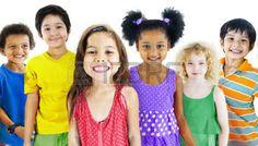 39108987: Children Kids Happines Multiethnic Group Cheerful Concept Stock Photo