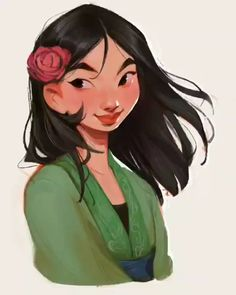 "loish: "" it's mulan! i'm in a disney princess sorta mood these days, who should i do next? Disney Princess Drawings, Disney Princess Art, Disney Drawings, Cartoon Drawings, Cartoon Art, Cute Drawings, Cartoon Design, Funny Disney Cartoons, Disney Cartoon Movies"