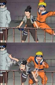 Naruto e Shikamaru Naruto Uzumaki Shippuden, Naruto Kakashi, Anime Naruto, Naruto Shippuden Characters, Naruto Boys, Naruto Teams, Naruto Comic, Wallpaper Naruto Shippuden, Sarada Uchiha