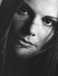 Wow! I've never seen this picture of Crown Princess Victoria of Sweden. Stunning.