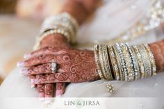 silver, thin slivers of pale gold and pure white for the Nikkah (wedding certificate signing)